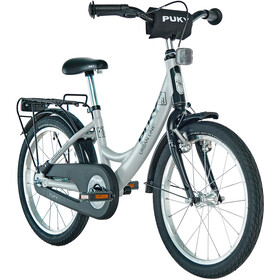 "Puky ZL 18-1 Bicycle aluminium 18"" Kids light grey/black"